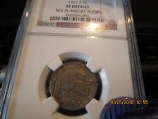 New listing 1921-S Ngc Buffalo Nickel Xf Reverse Planchet Flaw
