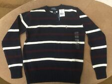 Polo Ralph Lauren Boys Pullover Cable Knit Sweater Crew Neck Medium Nwt.