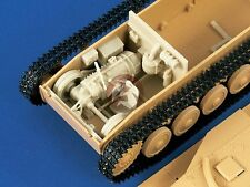 Verlinden 1/35 Sd.Kfz.124 Wespe Driver's Compartment Set WWII (for Tamiya) 1379