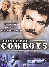 The Concrete Cowboys (NEW DVD) Morgan Fairchild, Tom Selleck, Jerry Reed