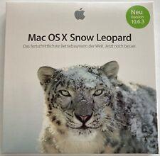 Apple Mac OS X Snow Leopard, Version 10.6.3, Neu Original verpackt