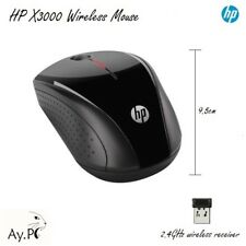 HP Wireless Mouse X3000 2.4GHz Wireless USB Micro Receiver PC/Laptop - Original