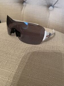 Oakley Miss Conduct Squared White Sunglasses OO9141-11 Women's
