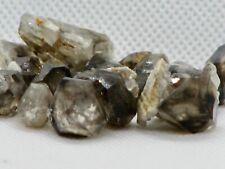 Rough Smokey Quartz Crystal Points & Pieces - 25 Grams 15-20 Pieces