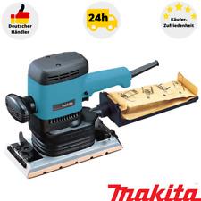Makita 9046 lijadora 600 vatios amoladora con polvo saco soporte