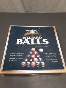 Vintage Harvard Billiard Balls Set