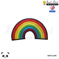 Rainbow Disney LGBT Embroidered Iron On Sew On Patch Badge For Clothes  etc