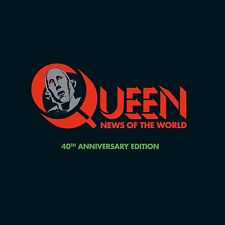 QUEEN - NEWS OF THE WORLD (LIMITED 3CD+DVD+LP SUPER DLX)  4 CD+DVD NEW!