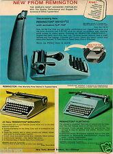 1965 PAPER AD Typewriter Remington Envoy II Monarch Fleetwing Smith Corona