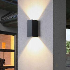 Waterproof indoor outdoor Led light 3/6W LED Aluminum Wall Lamp Garden Lights
