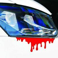 grafik auto - aufkleber aufkleber reflektierende tropf blutungen rotes blut