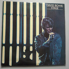 David Bowie - Stage Vinyle 2x LP UK Premier Presse A1/B1/C1/D1 Ex +/ Nm-