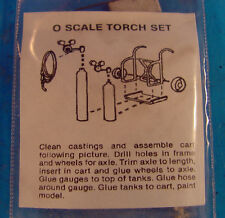 O/On3/On30 1/48 WISEMAN MODEL SERVICES ACETYLENE TORCH SET WITH CART SET KIT