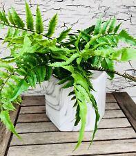 Artificial quisquilloso Crisantemo Bush 45cm falso Mamá Flores-Elige Tu Color