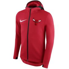 CHICAGO BULLS Nike NBA THERMA Flex On-Court Showtime Hoodie Mens L LARGE