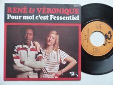 René Et Véronique  – Pour Moi C'est L'essentiel       Barclay – 620173
