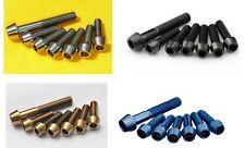 J&L Titanium/Ti Stem Bolt/Screw-fit FSA SL-K,OS-115/120/150,OS-99 CSI/Carbon