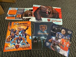 Chicago Bears 2018 Yearbook, Calendar & Map Season Ticket Holders