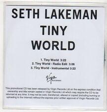 (EV535) Seth Lakeman, Tiny World - DJ CD