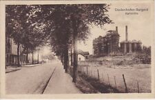 alte AK Diedenhofen-Burgard (Thionville), Lothringen, Karlshütte Zeche Bergbau
