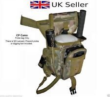 Metal Detecting Finds Bag/Pouch,Fits Waist & Leg,Eyelets,Probe+Trowel Pockets.CP