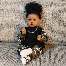 Ethnic Black Reborn Girl Baby Doll Gift