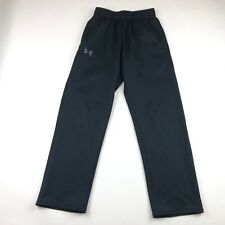 Under Armour Mens Black Loose Fit Sweatpants Small