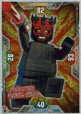 Lego Star Wars Series 2 Trading Cards Card No. 81 Mächtiger Darth Maul