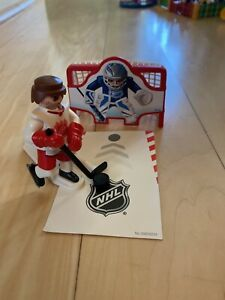 Playmobil NHL Player and Net