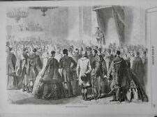 1861 HONGRIE TRIBUNE DISCOURS DIETE HONGROISE REUNION OFEN