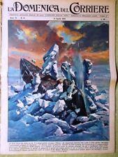 La Domenica del Corriere 12 Aprile 1959 Amnistia Tibet Giro d'Italia Giappone