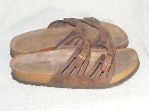 Women's Genuine Leather Sandals by Birkenstock - Worn a Few Times - Sz 9 M / 40