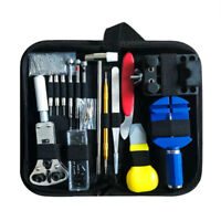 147Pcs Watch Repair Tool Kit Case Opener Link Spring Bar Remover Watchmaker Too