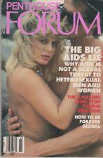 PENTHOUSE FORUM MAGAZINE MARCH 1988 Nude Sex Erotica