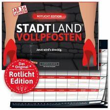 DENKRIESEN Stadt Land Vollpfosten Rotlicht Edition NEU unanständiges Partyspiel