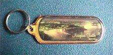 Goldtone Niagara Falls Canada Keychain Key Chain