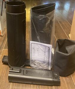 12-Amp Leaf Blower Vacuum Mulcher BV3100 Black & Decker 210 Mph Blow Speed Clean