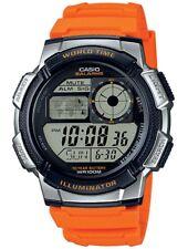 CASIO COLLECTION Reloj De Hombre Resina digital Naranja Plateado ae-1000w-4bvef