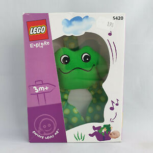 Lego Explore - 5420 Soft Frog Rattle NEW SEALED 3172 Duplo Primo