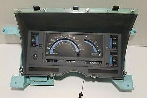 88-94 Chevy S10 Blazer Instrument Cluster Speedometer Gauges GMC S15 Jimmy Auto