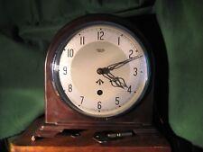 Smiths Enfield Mantel/Bureau Horloge. EX, mod WW2-maintenant Réduit -