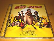 Disney HOME ON THE RANGE soundtrack CD alan menken tim mcgraw bonnie raitt kd la