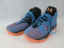 UNDER ARMOR MENS CURRY 2.5 FINALS EDITION LACE UP BLUE BASKETBALL SHOES 13 NEW