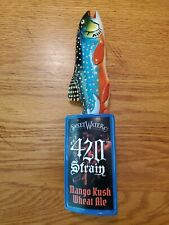 Sweetwater Brewing 420 Strain Beer Tap Handle Rare Man Cave Collectible