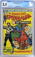 S571. AMAZING SPIDER-MAN #129 Marvel CGC 3.5 VG- (1974) 1st App. of the PUNISHER