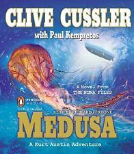 MEDUSA (A NUMA FILES Novel) unabridged audio book on CD by CLIVE CUSSLER