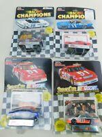 Racing Champions 1:64 NASCAR Lot Of  4 Die Cast Diecast Vintage B10