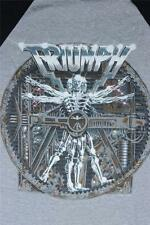 80s Vintage Triumph Thunder World Tour 1985 Concert Tee T Shirt Size M medium