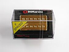 DiMarzio F-spaced Titan Bridge Humbucker W/Gold Cover DP 259