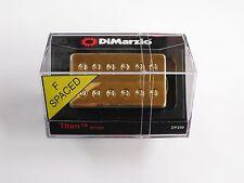 DiMarzio F-spaced Titan Bridge Humbucker W/Gold Cover DP 259